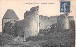 58 - Luthenay-Uxeloup - Château De Rosemont Animé - Ruines Des Tours - N°1 - Francia