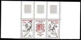 Andorra / Football, Soccer / World Cup Spain 1982 / Michel Mi 323-324 / MNH - World Cup