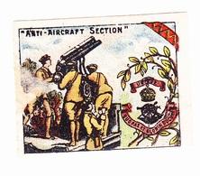 Vignette Militaire Delandre - Angleterre - Anti Aircraft Section - Vignettes Militaires