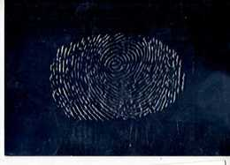 Mark READ Phil WOOD Finger Print, Carte Metallisee, Empreinte De Doigt - Paintings