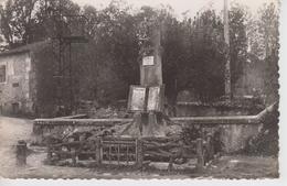 CPSM Saint-Sauvant - Le Monument Aux Morts (monument Original) - Autres Communes