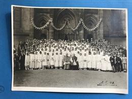 Stiring Wendel 1943 Communion Avec Curé évêque Format 23cm X 17,5cm Près De Forbach Spicheren Schoeneck - Autres Communes