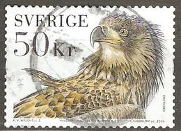Sweden: Single Used Stamp, Birds - White-talied Eagle, 2016, Mi#3094 - Eagles & Birds Of Prey