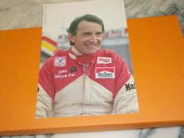 CARTE POSTALE JOHN WATSON MARLBORO MC LAREN - Grand Prix / F1