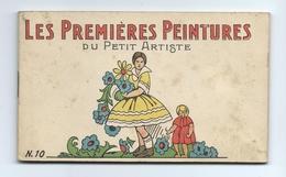 Carnet De Cartes Postales à Colorier - Les Premières Peintures Du Petit Artiste N° - Postcards
