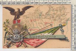 MILITARI REGGIMENTI  2° GRUPPO ALPINO - Regiments