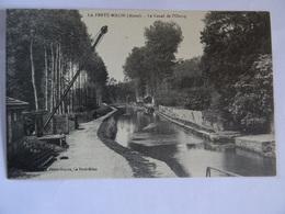 CPA 02  La Ferté-Milon Le Canal De L'Ourcq TBE - Sin Clasificación
