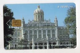 CUBA TELECARTE MUSEE DE LA REVOLUITION MEMORIAL GEANMA1 10$ - Cuba