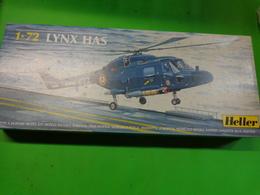 Maquette Helicoptere Militaire-en Plastique-1/72 Heller- Lynx Has  Ref 80367 - Airplanes