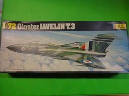 Maquette Avion Militaire-en Plastique-1/72 Heller- Gloster Javelin T 3 Ref 346 - Airplanes
