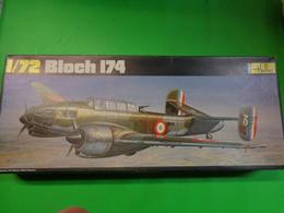 Maquette Avion Militaire-en Plastique-1/72 Heller- Bloch 174 Ref 393 - Airplanes