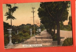 DJQ-21 Santa-Fé Paseo De Bulevar . Used In 1926 To Switzerland. Stamp Missing - Argentina