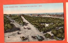 DJQ-27 Buenos-Aires Plaza Corton -Norte. Used To Switzerland In 1919, Stamp Missing - Argentina