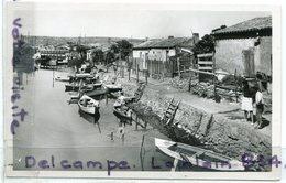 - 20 - LA NOUVELLE - (Aude ), Le Canelet, Glacée, Barques, Petit Format, édit Narbo, écrite, 1950, TBE, Scans. - Port La Nouvelle