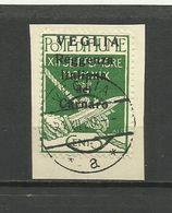 Fiume - Veglia 1920 - MI. 28 I, Used - 8. WW I Occupation