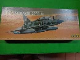 Maquette Avion Militaire-en Plastique-1/72 Heller- Mirage 2000 Ref 80356 - Airplanes