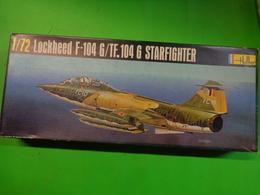 Maquette Avion Militaire-en Plastique-1/72 Heller- Lockheed F-104 Starfighter    Ref 273 - Airplanes