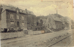 Hermalle Mallieue La Chapelle Et Voie De Tram Edit. Laflotte (voir Verso Carte Reparée) - Sin Clasificación