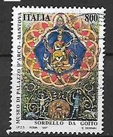 ITALIA 1997 PATRIMONIO ARTISTICO E CULTURALE ITALIANO SASS. 2314 USATO VF - 6. 1946-.. Repubblica