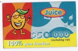 ZIMBABWE PREPAYEE 50 000$ JUICE - Simbabwe