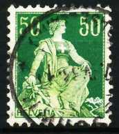 SCHWEIZ 1908 Nr 107z Gestempelt X69702A - Gebraucht