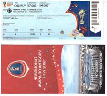 World Cup 2018 - Ticket - Match 57 (France - Uruguay) - Tickets - Vouchers