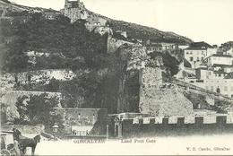 GIBRALTAR  -- Land Port Gate                               --  V. B. Cumbo - Gibraltar