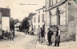 MIGRON (17 Charente Maritime) Route De Burie Belle Animation - Autres Communes