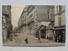75 TOUT PARIS  Carte à L'état Pur - 127 Rue Du Ranelagh - Cachet De Censure  DEN1337 - Autres