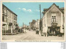 62 WIMEREUX. Hôtel Bar Tabacs Au Quartiert Saint-Maurice Vers Le Casino - France