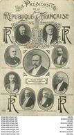 WW Les Présidents De La République Française De 1899 à 1913 Poincaré - Uomini Politici E Militari
