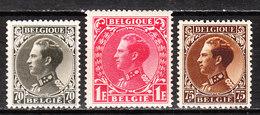401/03**  Leopold III - Série Complète - MNH** - COB 13 - Vendu à 13% Du COB!!!! - Unused Stamps