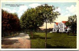 Indiana Muncie Minnetrista Boulevard 1922 - Muncie