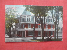Hotel Koppenhaver Millersburg Pennsylvania  Ref 3981 - United States