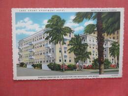 Lake Court Apartments Hotel    Florida > West Palm Beach   Ref 3982 - West Palm Beach