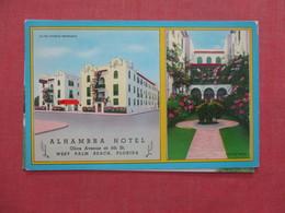 Alhambra Hotel      Florida > West Palm Beach   Ref 3982 - West Palm Beach