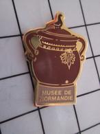 1216A Pin's Pins / Beau Et Rare / THEME : AUTRES / MUSEE DE NORMANDIE POT EN TERRE CUITE - Pin's