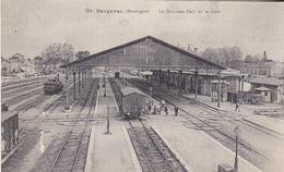 VIL- BERGERAC    EN DORDOGNE  LE NOUVAU HALL DE LA GARE    CPA  CIRCULEE - Bergerac