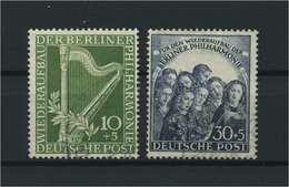 BERLIN 1950 Nr 72-73 Postfrisch (118450) - [5] Berlino