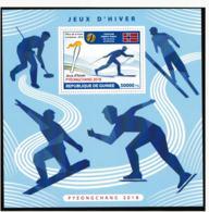 Guinee 2018 PyeongChang Olympic Games   Souvenir Sheet MNH/** (LARGE-H30) - Winter 2018: Pyeongchang