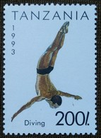 Diving, Water Sports, Game,Tanzania 1993,sports, - High Diving