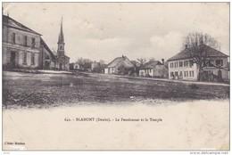 DOUBS BLAMONT LE PENSIONNAT ET LE TEMPLE - France