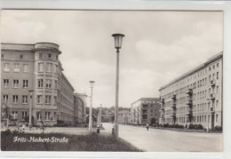 Stalinstadt - Fritz Heckert Strasse - Eisenhuettenstadt