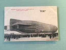 LUNÉVILLE. - Atterrissage D'un Zeppelin Allemand à Luneville, Avril 1913 - Luneville