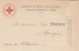 9717-CROCE ROSSA ITALIANA-COMITATO CENTRALE DI ROMA-1912-FP - Red Cross