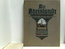 Die Rheinlande In Farbenphotographie. 2.Band. Textband + 40 Aufmontierte Bilder - Ohne Zuordnung