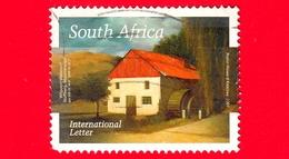 SUD AFRICA - Usato - 2007 - Mulino Ad Acqua Di Stoffberg, Mpumalanga - Int. Lettera -  No Valore Facciale - Afrique Du Sud (1961-...)