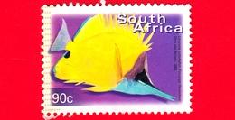 SUD AFRICA - Usato - 2000 - Vita Marina - Pesci (Forcipiger Flavissimuss) - 90 C - Afrique Du Sud (1961-...)