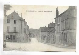 21 -  MONTBARD - La Rue D' Abrantés - Montbard