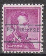 USA Precancel Vorausentwertung Preo, Locals New York, Poughkeepsie 807 - United States